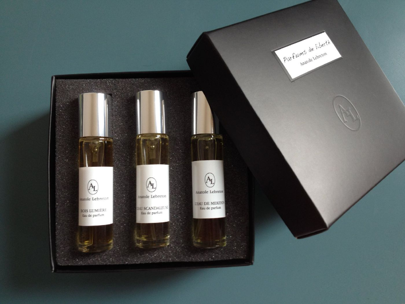 Travel Set 3 Parfums Anatole Lebreton