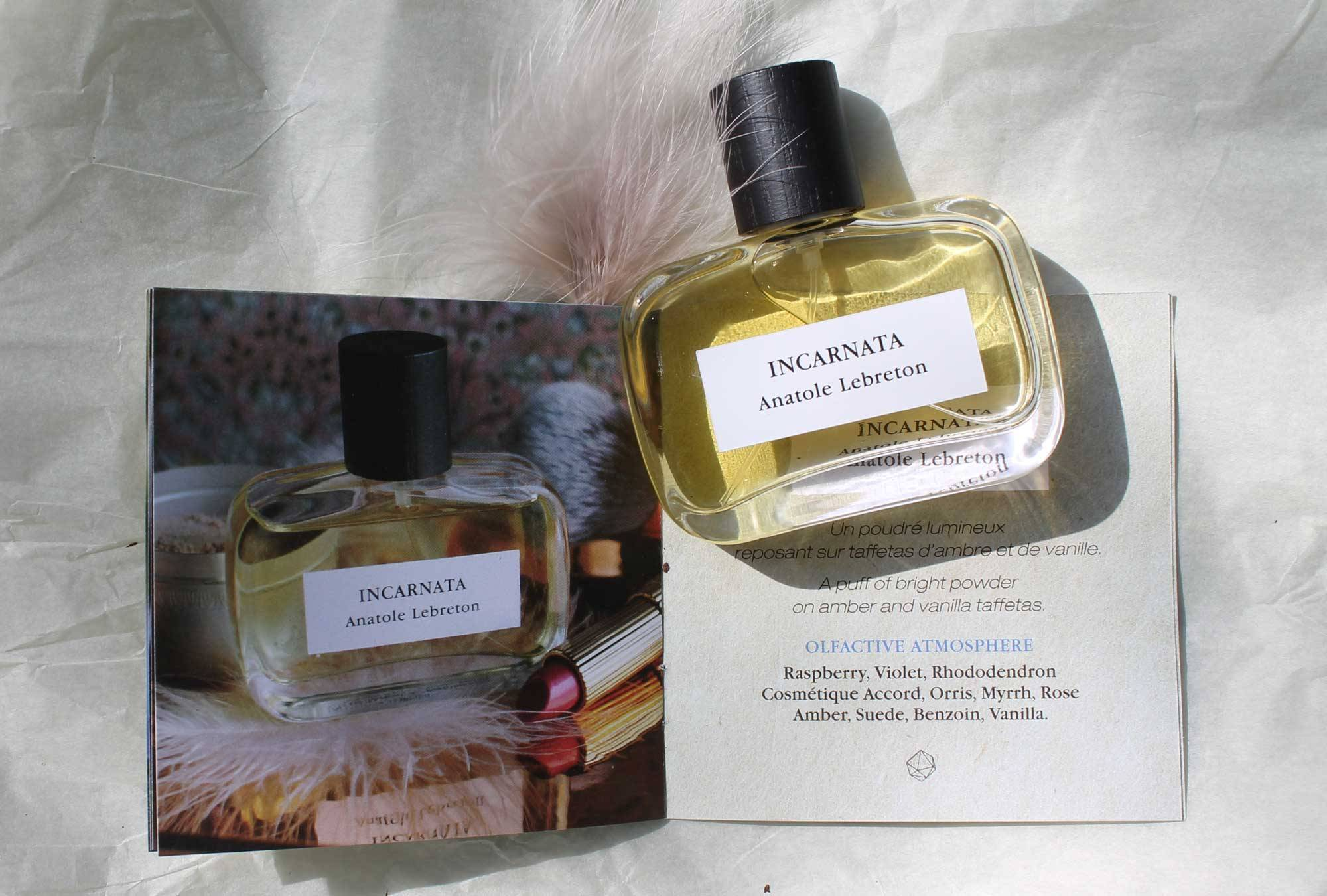 Communication Anatole Lebreton, Incarnata, parfum de niche