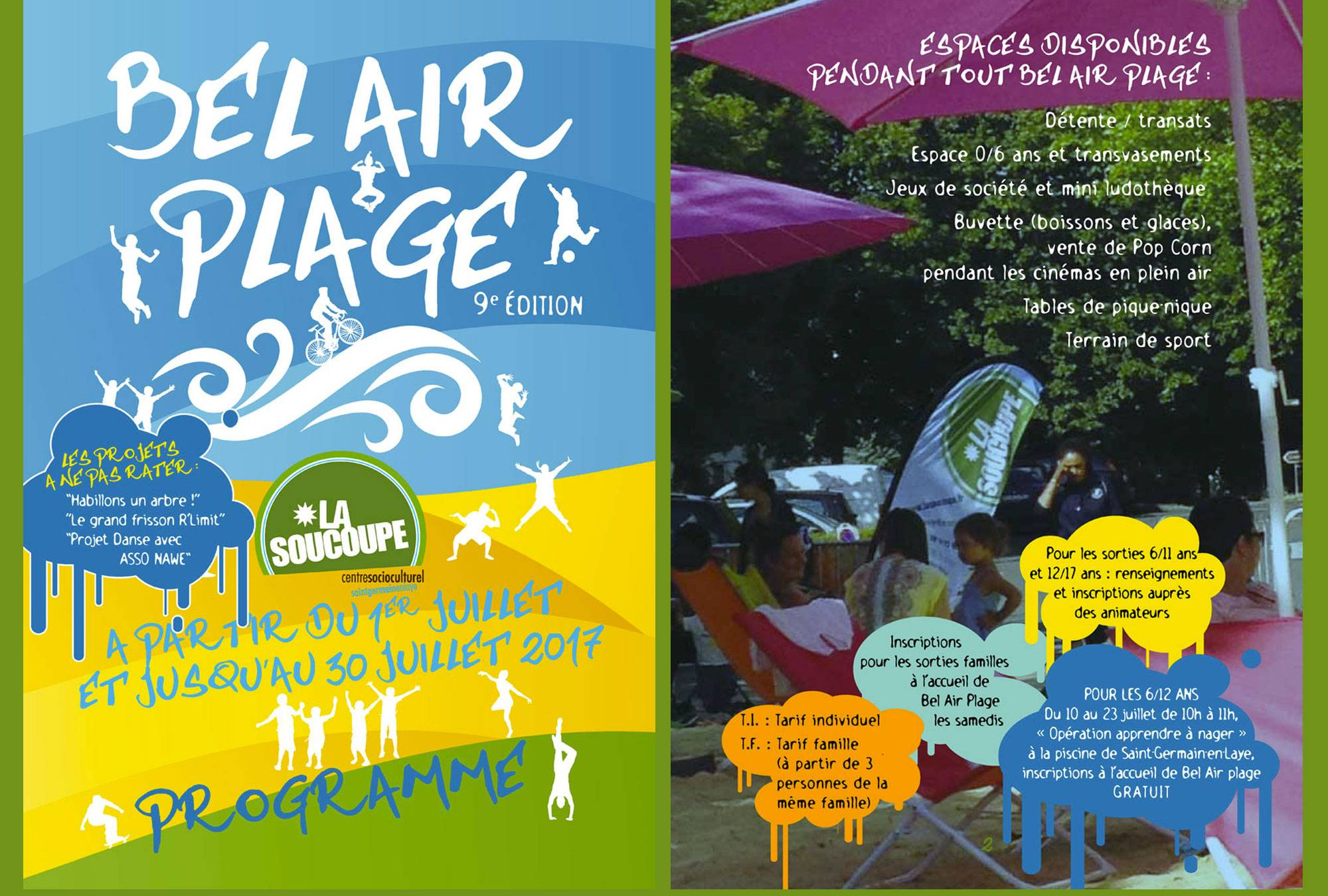 Communication Bel Air Plage 2017